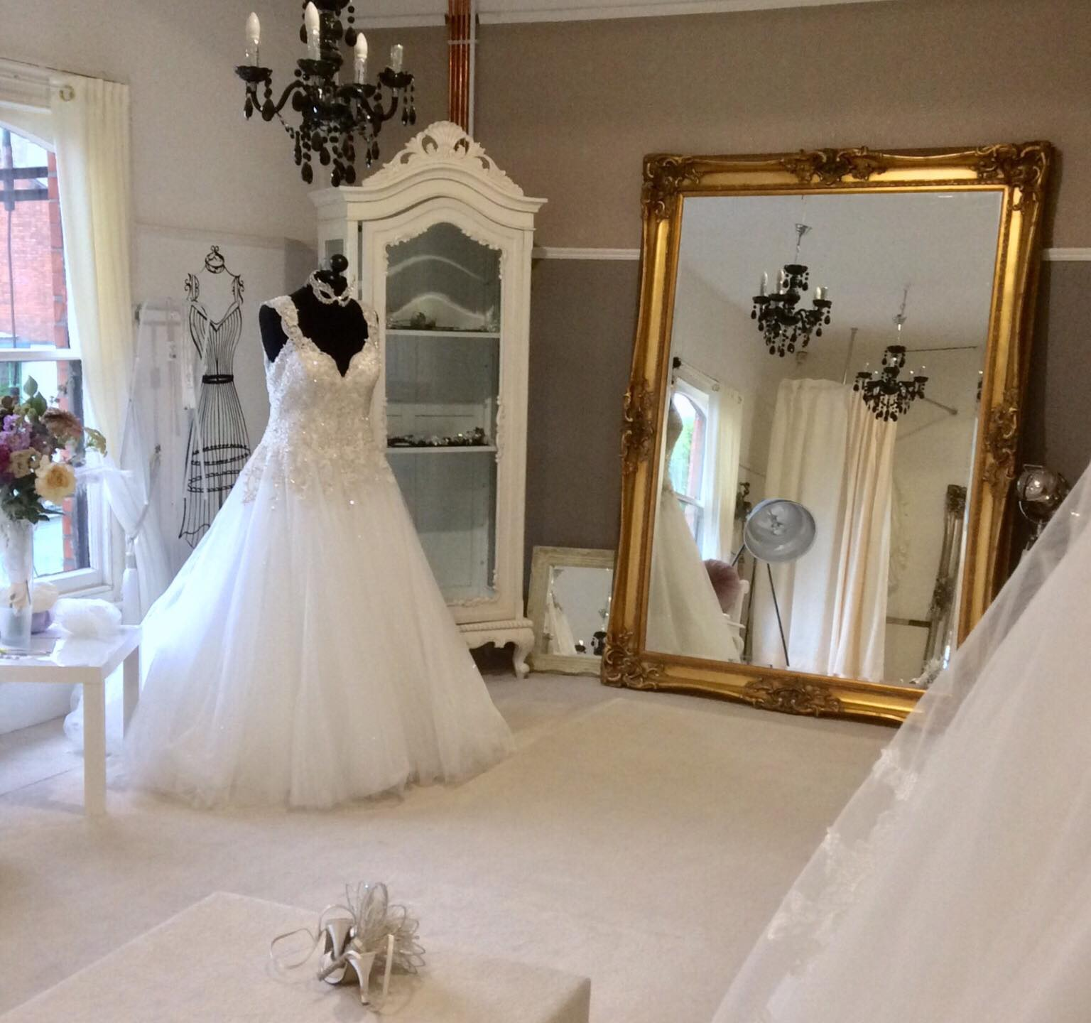 Wedding dresses at Angel Star Bridal